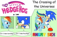 sonic hentai galleries pac friendship magic little pony rainbow dash sonic team hedgehog crossover