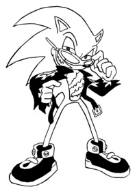 sonic hentai newgrounds headchef scourge hedgehog color art