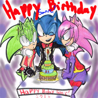 sonic underground hentai happy birthday sonic agentskull art hip hedgehog