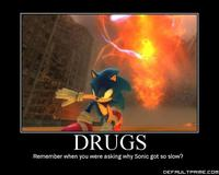 sonic vanilla hentai motivator motivational picture day drugs sonic slow