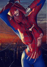 spider girl hentai lusciousnet spider girl torn costum pictures album may parker costume
