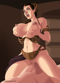 star war the clone wars hentai slave leia tits iron dullahan star wars