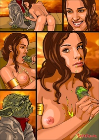 star wars hentai comics hentai comics celebrities natalie portman starwars