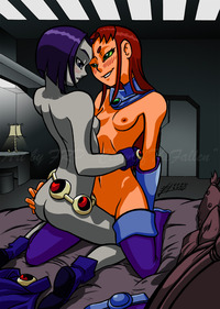 starfire hentai flash clawofthefallen pictures user private time raven starfire page all
