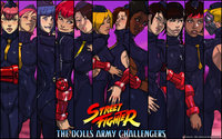 street fighter rose hentai street fighter dolls army challengers wallpaper ganassa opwfk art bison juni juli