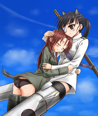 strike witches hentai pics strikewitches anime strike witches season yuri ful thinking