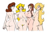 super mario daisy hentai legend zelda princess daisy peach rosalina speeds super mario bros galaxy crossover samus hentai