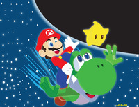super mario galaxy hentai super mario galaxy yoshi adchv ssuq morelikethis artists fanart wallpaper