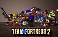 team fortress 2 hentai sonic team fortress toughset art tails mccloud