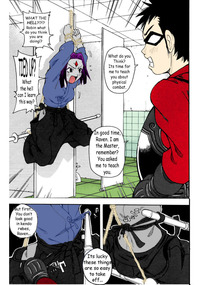 teen titans hentai fakku teen titans raven gets trained pictures album page