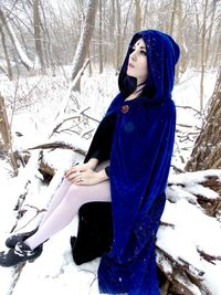 teen titans hentai luscious lusciousnet raven snowy landscape superheroes pictures album cosplay pics