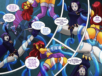 tentacle hentai comics lusciousnet teen titans tentacle pictures album tentacled