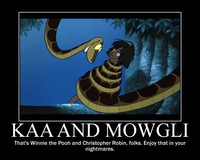 the jungle book hentai jungle book kaa mowgli demotivational hypnosis yaoi