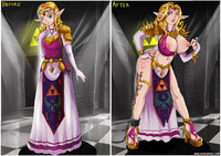the legend of zelda hentai gallery therealshadman corrupted zelda pictures user page all