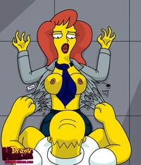 the simpsons hentai images simpsons xxx pic drawn hentai homer simpson mindy simmons