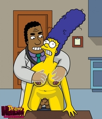 the simpsons hentai images simpsons xxx pic drawn hentai julius hibbert marge simpson