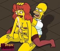 the simpsons hentai pictures simpsons xxx pic drawn hentai homer simpson mindy simmons
