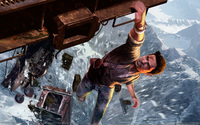 uncharted 2 hentai wallpaper science fiction art