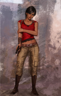 uncharted hentai chloe frazier uncharted character artwork nathan drake