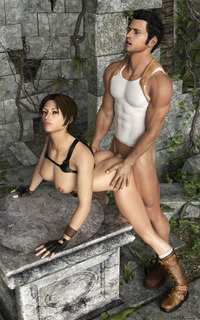 uncharted hentai detomasso lara croft nathan drake tomb raider uncharted crossover chloe rule