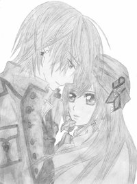 vampire knight hentai pics zero yuuki vampire knight dashachii pencil drawing