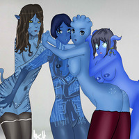 warcraft e hentai edb fba asari cortana halo james cameron avatar liara soni mass effect world warcraft crossover draenei