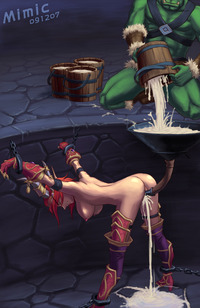 warcraft hentai map decb alexstrasza world warcraft mimic artist orc futa hentai
