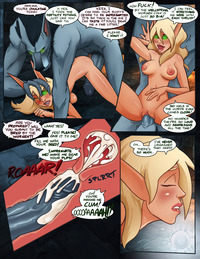warcraft hentai hagfish pictures user commissioned wow comic page all