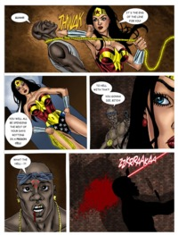wonder woman ge hentai lusciousnet pictures album wonder woman predator
