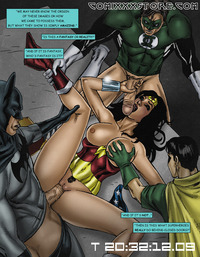 wonder woman hentai lusciousnet jla gangbang pictures album wonder woman fucks justice league