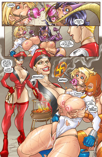 wonder woman lesbian hentai power girl slut