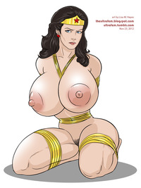 wonder women hentai manga ultrafem lynda carter wonder woman hentai