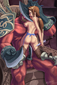 world of warcraft human hentai bbec captain alina kargath bladefist world warcraft human mimic orc