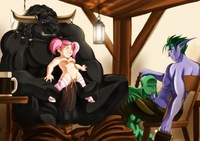 world of warcraft orc hentai abd gnome world warcraft night elf orc redstash tauren