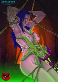 wow druid hentai art warrior girl