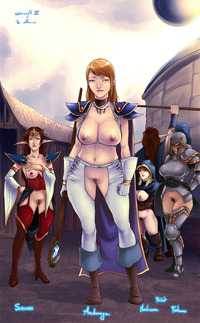 wow dwarf hentai dace dwarf jaina proudmoore rennes sorceress warcraft world archmage footman high elf human