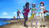 wow hentai foundry wow swimsuit special pictures user drgraevling epic journey beach page all