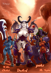 wow succubus hentai bebba dfacea dreadlord rennes warcraft world demon fel stalker overlord pit lord succubus vile temptress