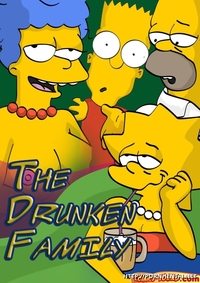 xxx simpsons hentai pornhentai net comics toons drunken family simpsons these dudes have wrong counterparts but still having joy hentai manga comic porn xxx