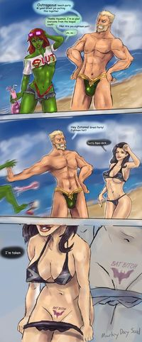 young justice hentai lusciousnet aquaman aqu hentai pictures album artist markydaysaid page