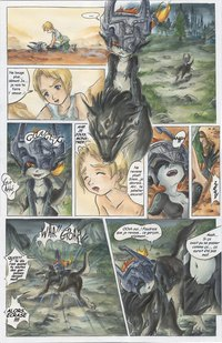 zelda hentai comics media princess midna hentai