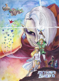 zelda hentai skyward pre zelda wars skyward sword iamnotaporkchop uel morelikethis fanart traditional paintings games