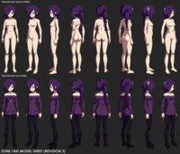 zone hentai flashes zone tan model sheet revision page pictures user all