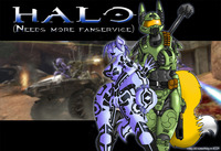 halo hentai pic media original cortana digimon halo krystal master chief renamon rule