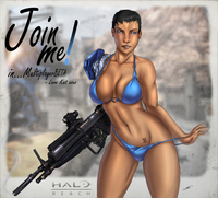 halo hentai pic lusciousnet halo reach video games pictures album bloodfart
