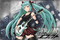 hatsune miku hentai manga hatsune miku wallpapers playing guitar