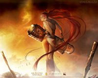 heavenly sword hentai wallpaper papel parede heavenly sword nariko goddess war hentai soft