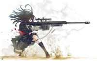 hentai backgrounds mangas fond sniper gunslinger girl weapon wallpaper ecran hentai manga mangapng wallpapers mania org