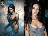 hentai comic books fathom copy movies megan fox cast yields resounding duh