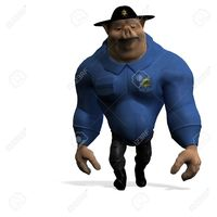 hentai crazy toon dclipartsde toon animal pig policeman rendering shadow over white stock photo crazy
